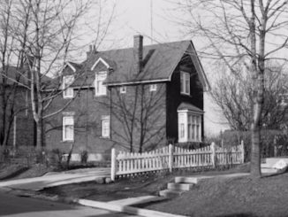 Old Leaside house