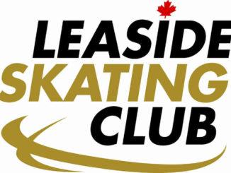 Leaside Skating Club logo.