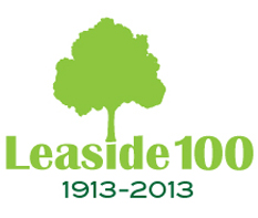 Leaside 100 logo
