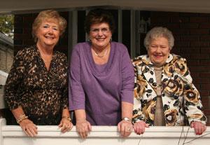 Joan Mills, Pat Cole & Arlene Acheson