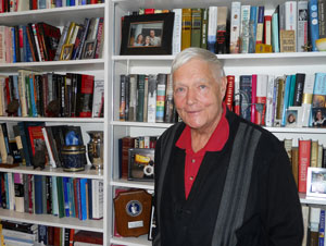 Michael Bliss in his study