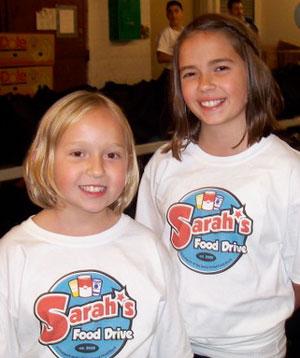Claire, 7, and Sarah Jordan, 11.
