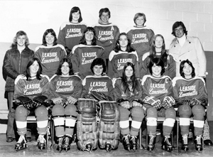 The Leaside Lancerettes 1974-75