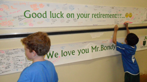 Bondy retirement