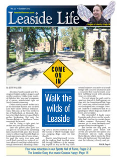Leaside Life October 2014 print edition cover