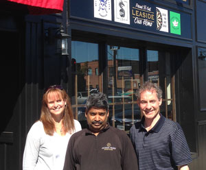 Sue Barrett, Param Ratna and Jeff Hohner