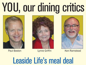 our dining critics