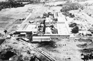 Durant Motors aerial view