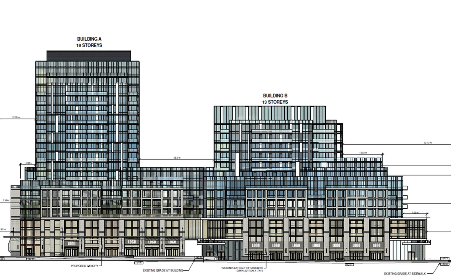 660 Eglinton elevation