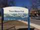 Trace Manes Park sign. Staff Photo.