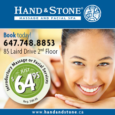 Hand and Stone Leaside