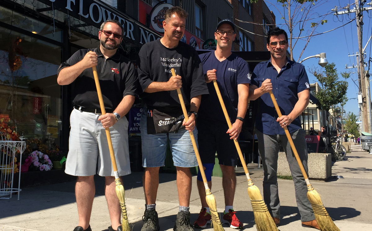 Sweep the Streets, Oct. 3, 2015