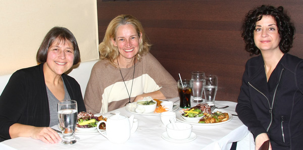 Cynda Fleming, Linda Lord and Ellen Dimitropoulos