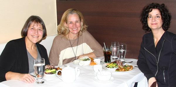 Cynda Fleming, Linda Lord and Ellen Dimitropoulos