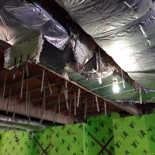Smart Centre ceiling