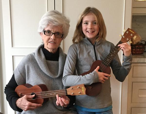 Elaine Snider and granddaughter Sarah Snider.