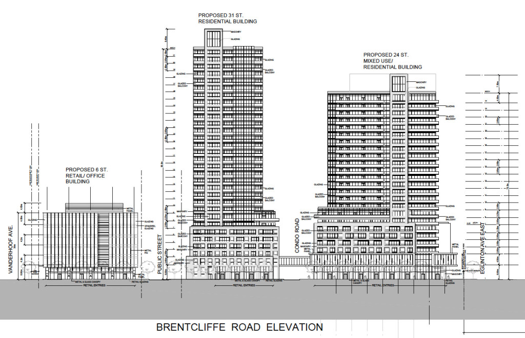 939 Eglinton Proposal Technical Diagram