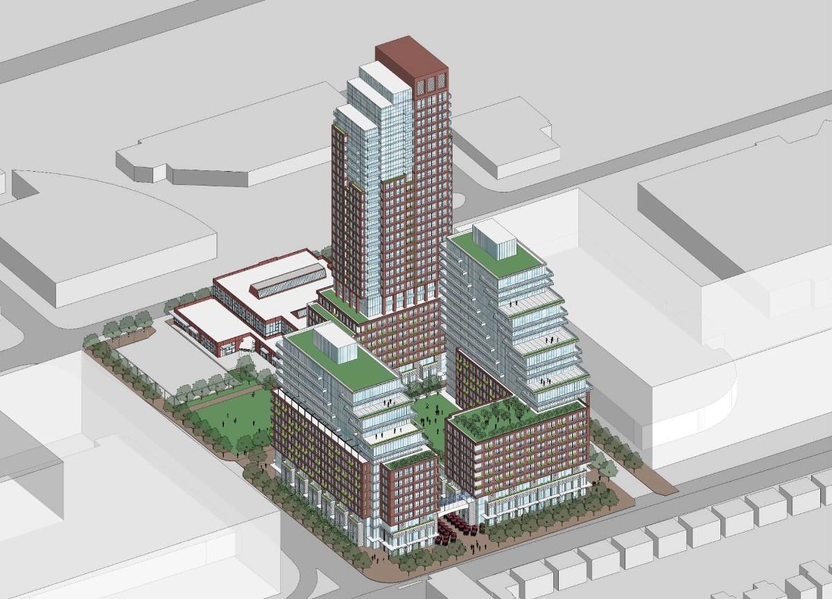 939 eglinton ave. Development proposal june 2016