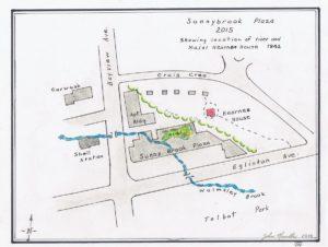Sunnybrook plaza map 2015