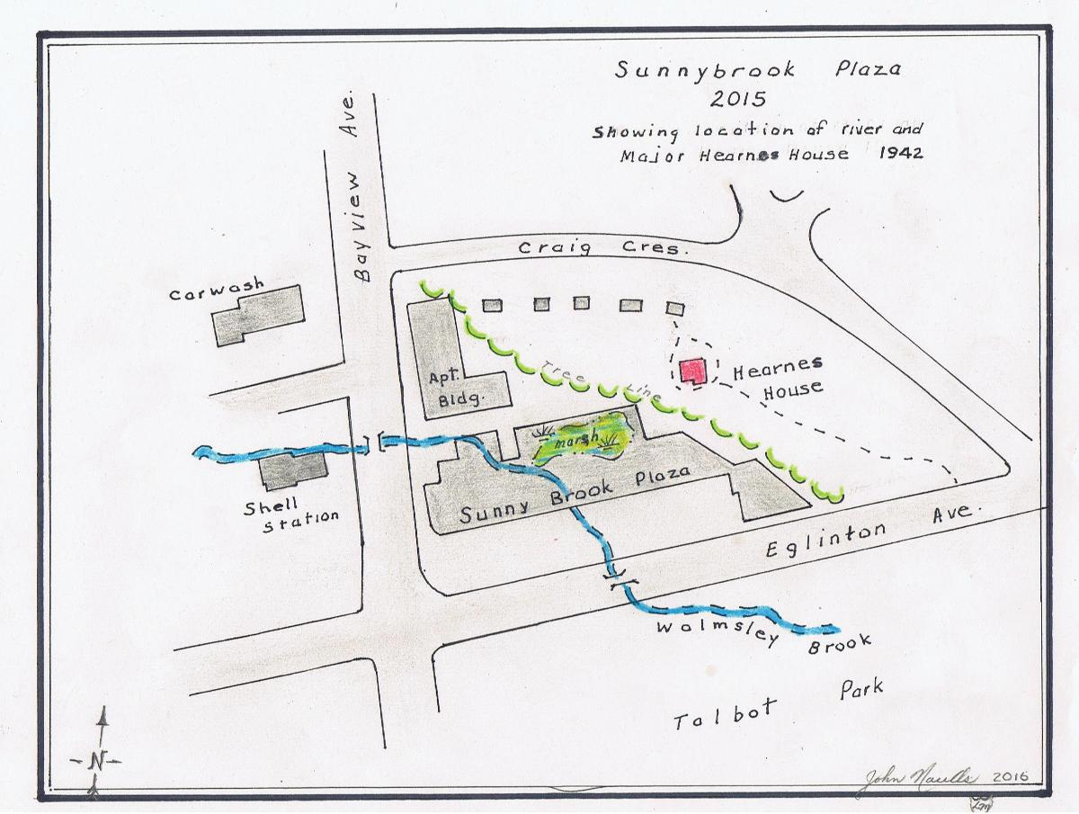 Sunnybrook plaza map 2015