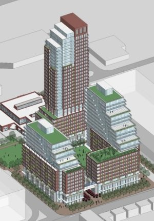 Diamond Corp. proposal for 939 Eglinton Ave. East