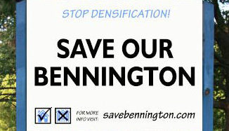 Stop Densification sign
