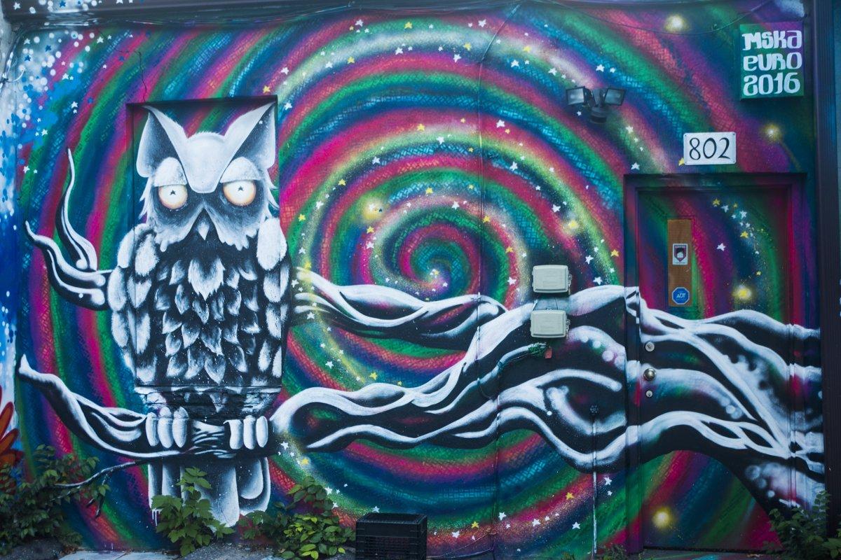 Leaside Graffiti