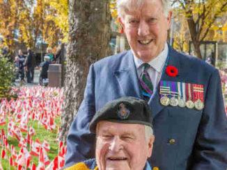 Stevenson and veteran