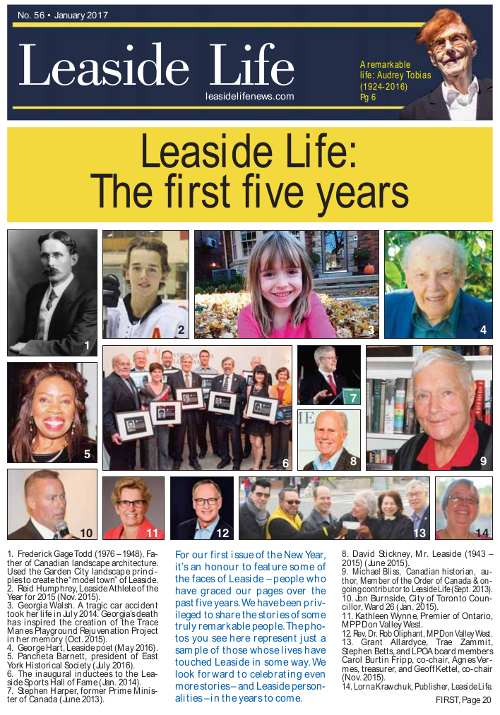 Leaside Life January 2017 Cover