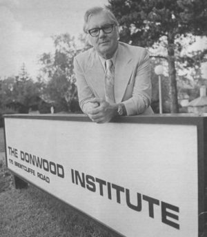 When Dr. R. Gordon Bell founded the Donwood Institute in North Leaside in 1967, it was the first public hospital for addiction treatment in Canada.