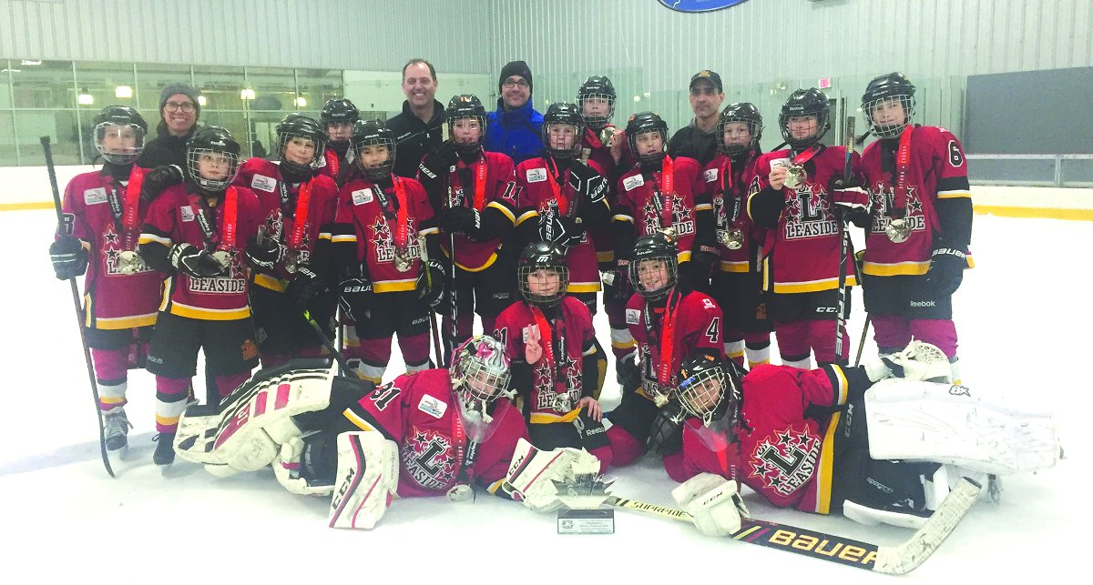 The Flames Minor Peewee A team finished 1st in their division and won the GTHL Kraft Cup.
