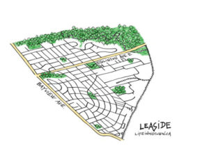 Leaside Map Sketch