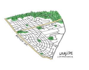 Leaside Map Sketch