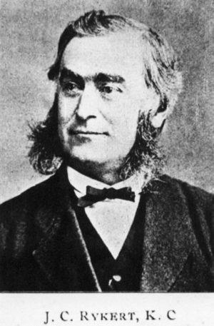 J. C. Rykert, K. C.