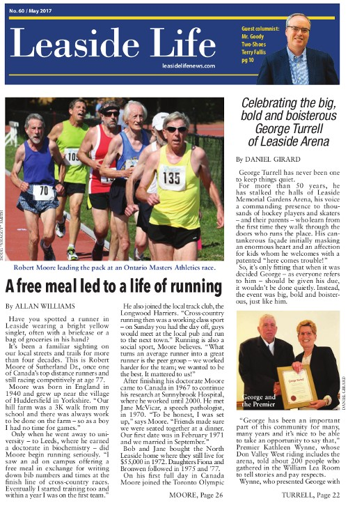 Leaside Life May 2017 Cover