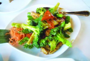 Broccoli dish photo By June Chiu