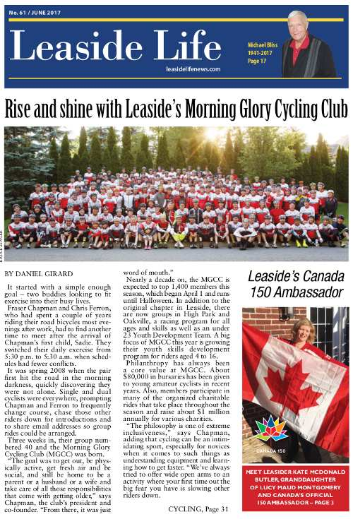 Leaside Life June 2017 Cover