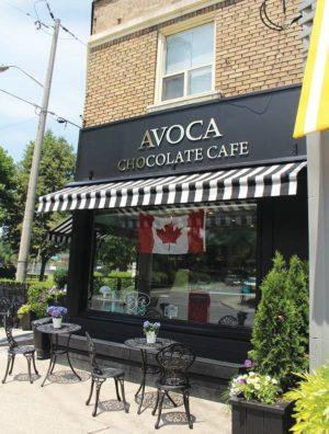 Storefront of Avoca