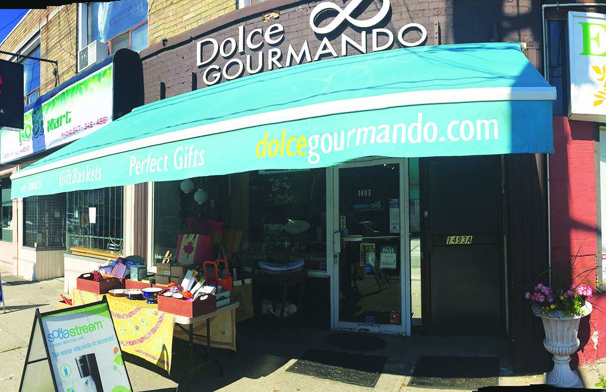 Dolce & Gourmando Storefront. Photo by Robin Dickie.