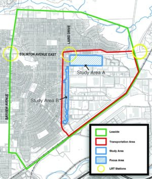 Laird and leaside map