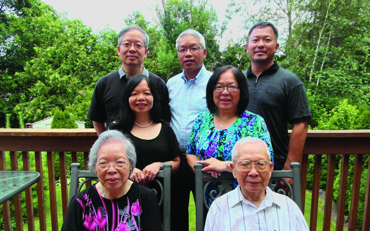 The Lee family of Leaside. Photo by Jane So.