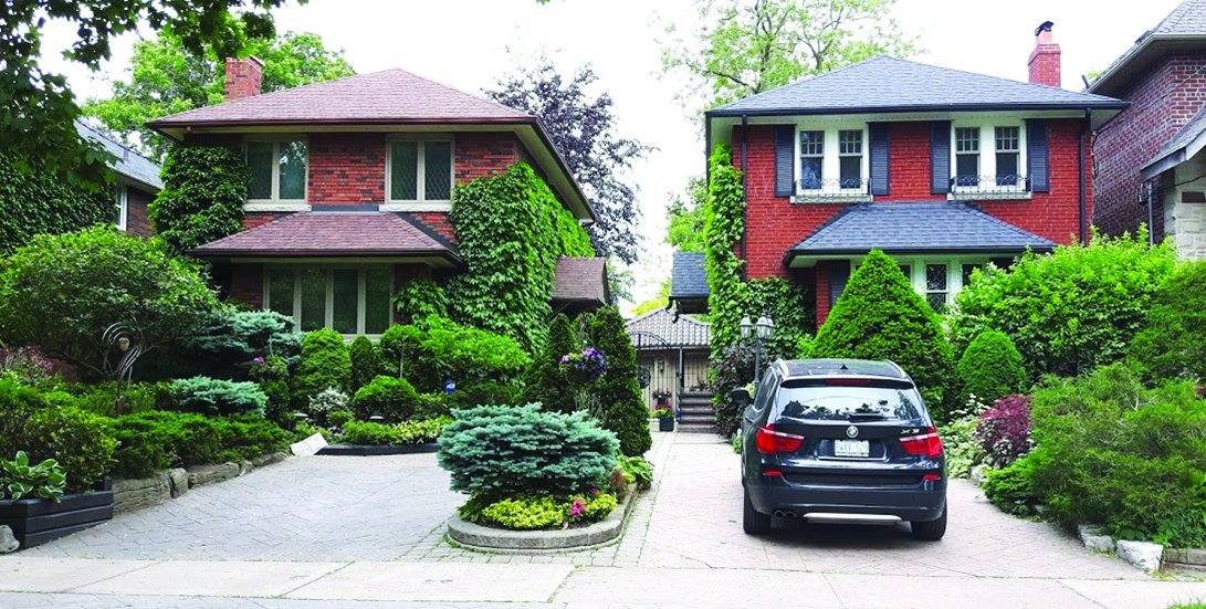 Garden winners: 198 and 200 Bessborough Drive.