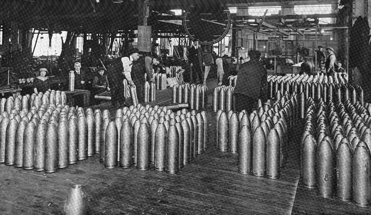Leaside Munitions Factory Photo