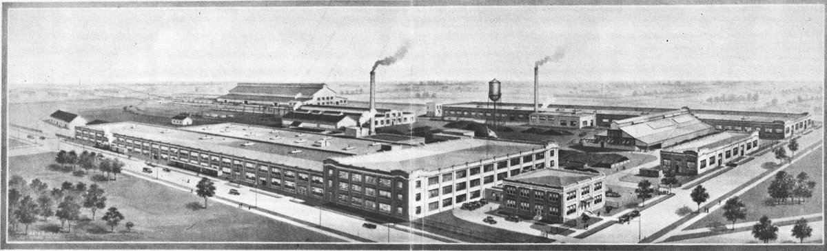 Leaside Munitions in a drawing from 1918
