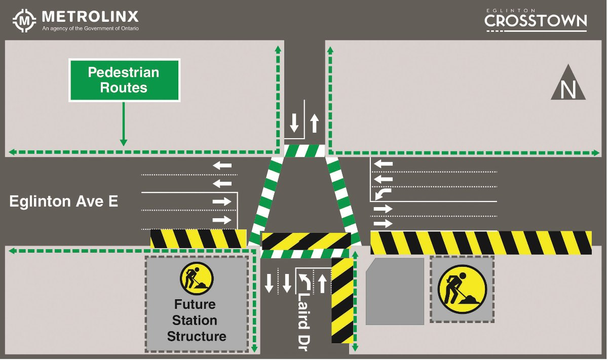 Crosstown metrolinks diagram