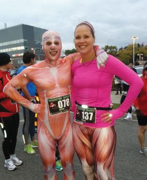 Runners in costume. Photo Credit: Good Times Running