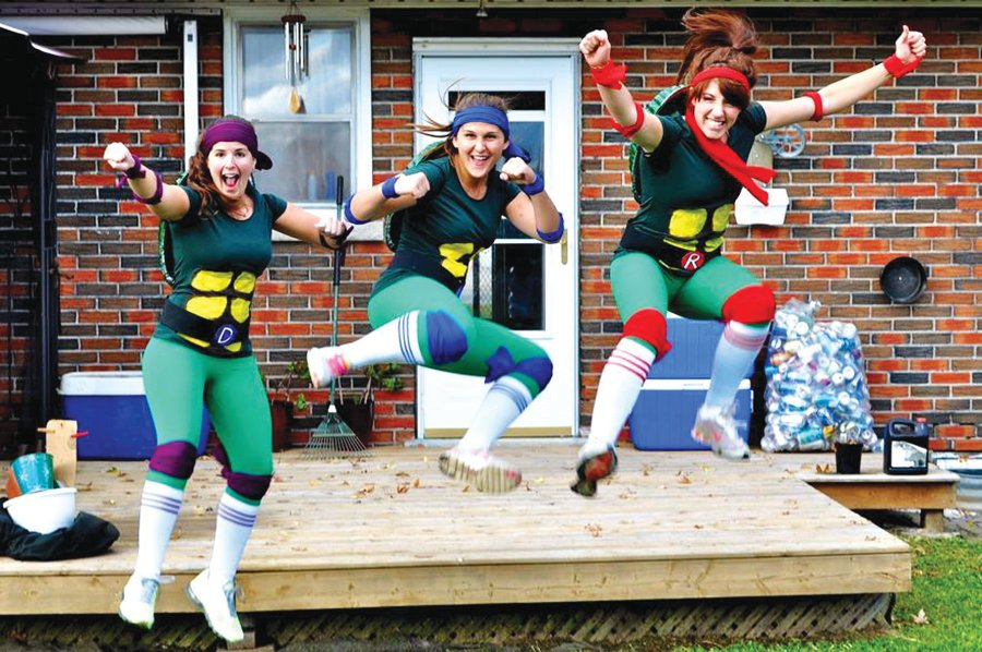 Ninja Turtles Runners. Photo Credit: Good Times Running