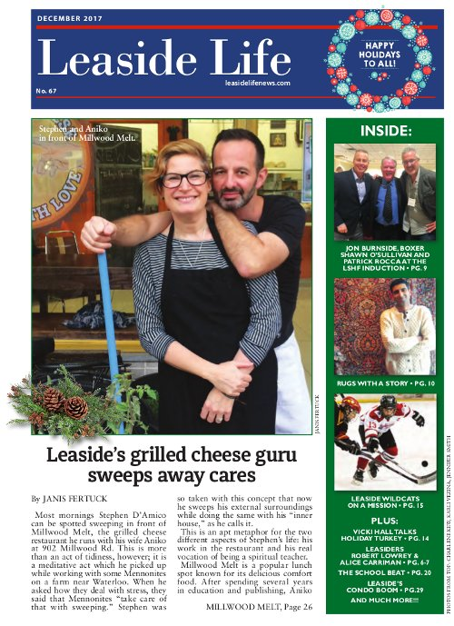 Leaside Life December 2017 Cover