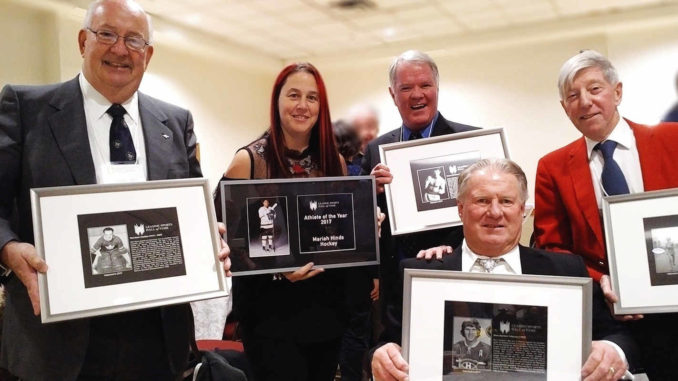 Sports Hall of Fame Winners. Photo by Eric Goddard.