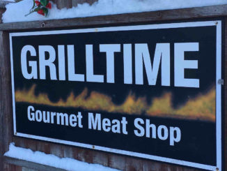 Grilltime sign.